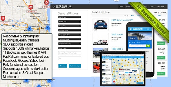 Car Trading Made Easy - CodeCanyon Item for Sale