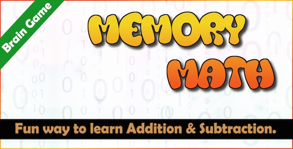 Memory Math - A Brain Training Game (Android) - CodeCanyon Item for Sale