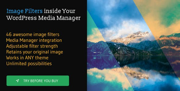 Ultimate Image Filters WordPress Plugin