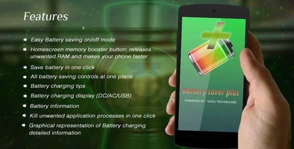 Battery Saver Plus - CodeCanyon Item for Sale