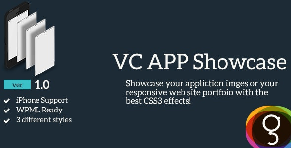 Visual Composer App Showcase - CodeCanyon Item for Sale
