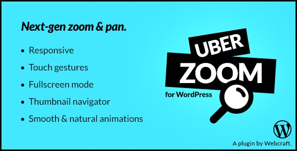 Uber Zoom - Smooth Zoom & Pan for WordPress - CodeCanyon Item for Sale