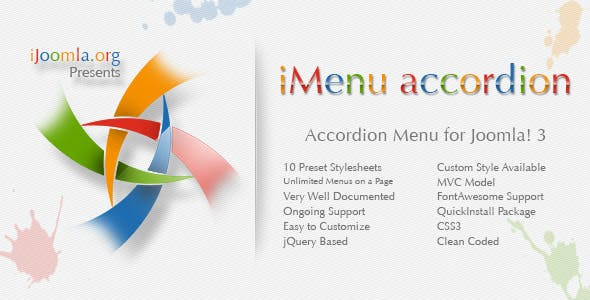 iMenu Accordion - Accordion Menu for Joomla