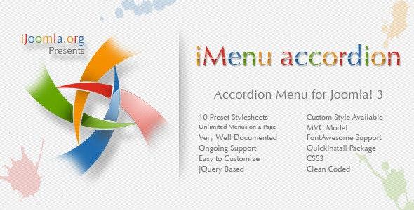iMenu Accordion - Accordion Menu for Joomla - CodeCanyon Item for Sale