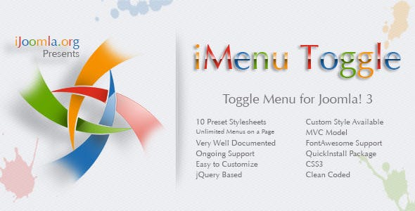 iMenu Toggle - Toggle Menu for Joomla