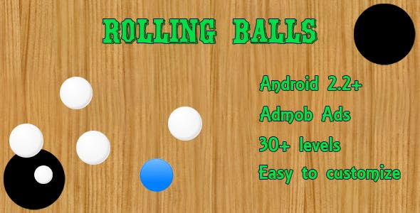 Rolling Balls Game With Admob