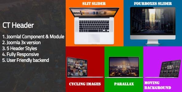 CT Header - Joomla! Header Component
