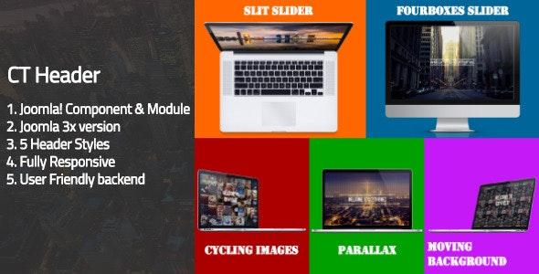 CT Header - Joomla! Header Component - CodeCanyon Item for Sale