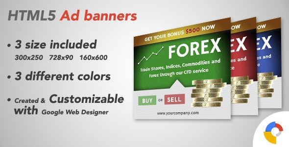 Ad HTML5 Template | Forex - CodeCanyon Item for Sale