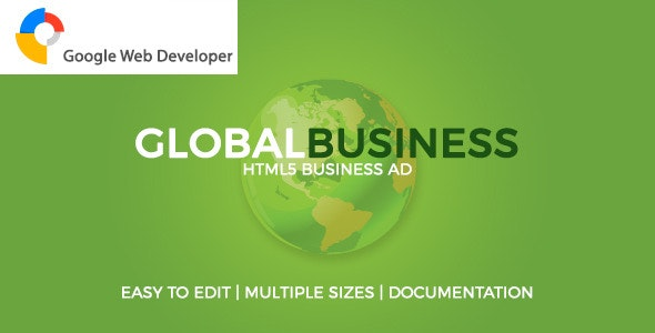 GlobalBusiness HTML5 Ad - CodeCanyon Item for Sale