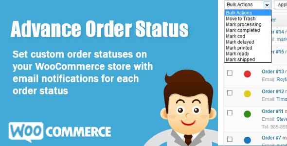 WooCommerce Advance Order Status