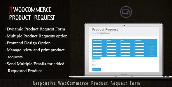 WooCommerce Products Request Manager