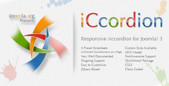 iCcordion - Responsive Accordion for Joomla! 3 - CodeCanyon Item for Sale