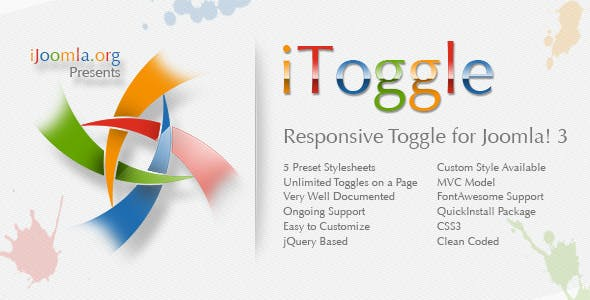 iToggle - Responsive Toggle for Joomla! 3