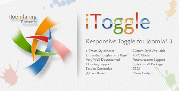 iToggle - Responsive Toggle for Joomla! 3 - CodeCanyon Item for Sale