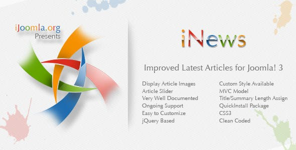 iNews - Improved Latest Articles Module