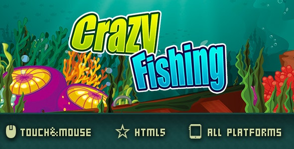 CrazyFishing-html5 game - CodeCanyon Item for Sale