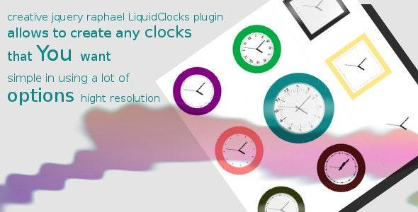 LiquidClocks - CodeCanyon Item for Sale