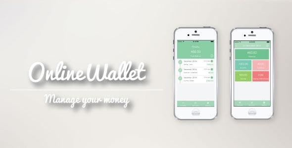 OnlineWallet [.xib base] - CodeCanyon Item for Sale
