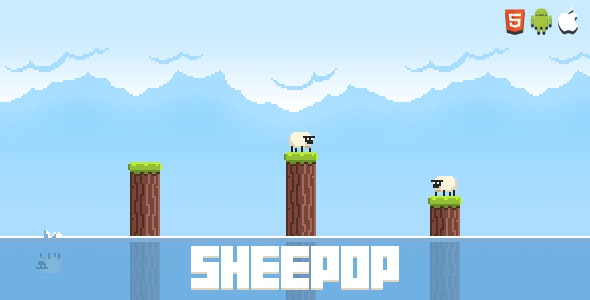 Sheepop - HTML5 Game (Construct 2 & Construct 3) - CodeCanyon Item for Sale