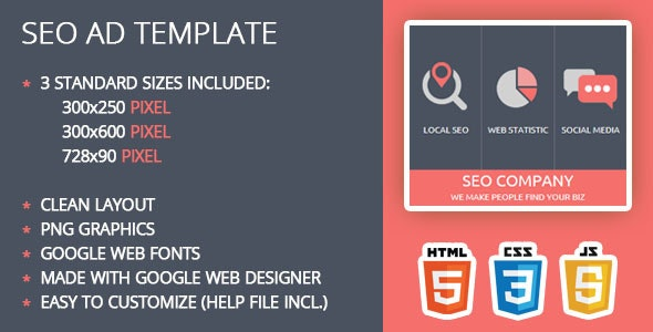 SEO Ad Template - CodeCanyon Item for Sale