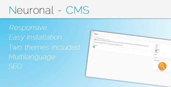 Neuronal - Content Management System - CodeCanyon Item for Sale