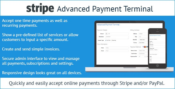 Stripe Advanced Payment Terminal - CodeCanyon Item for Sale