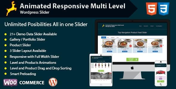 Animated Responsive Multi Level WordPress Slider - CodeCanyon Item for Sale