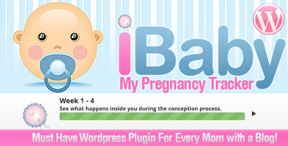 My Baby Pregnancy Due Tracker for Wordpress - CodeCanyon Item for Sale