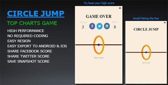 Circle Jump (Flappy Circle)