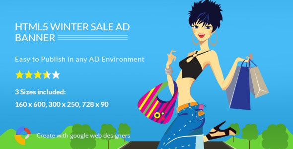 Winter Sale - HTML5 Ad Template - CodeCanyon Item for Sale