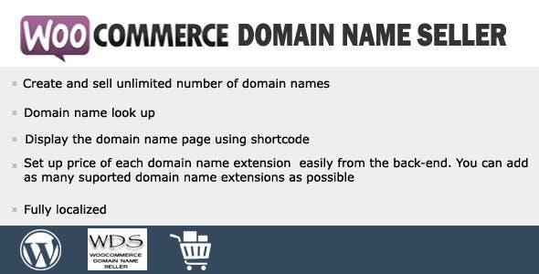 Woocommerce Domain Name Seller