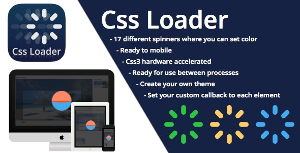 CSS3 Loader and Preloader - CodeCanyon Item for Sale