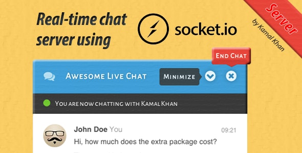 Awesome Live Chat Server - CodeCanyon Item for Sale