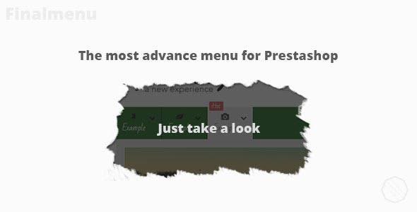 Finalmenu - prestashop menu