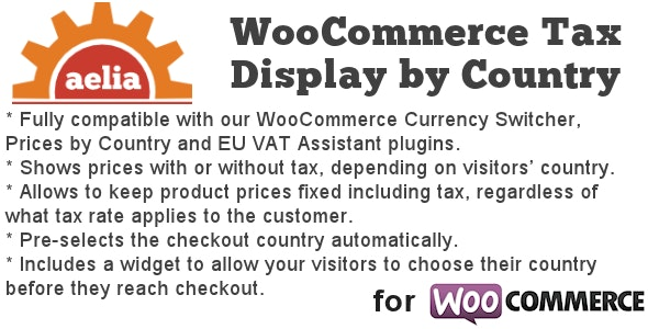 Tax Display by Country for WooCommerce - CodeCanyon Item for Sale