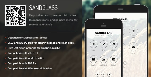 Glass | Creative Navigation for Mobile & Tablets - CodeCanyon Item for Sale