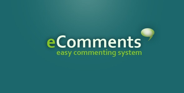 eComments - easy commenting system - CodeCanyon Item for Sale