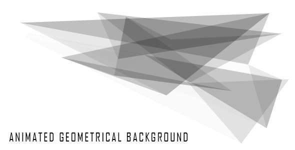 Abstract Geometrical Animated Background - CodeCanyon Item for Sale