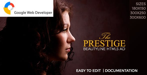 The Prestige HTML5 Beauty-line Ad