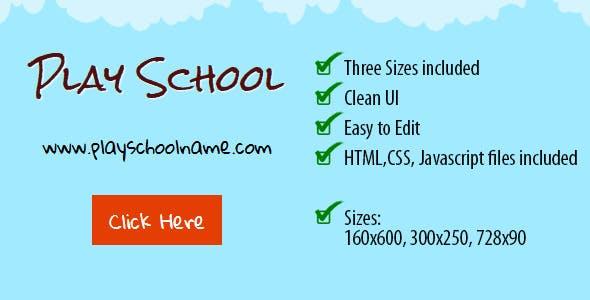 Play School Ad Banner