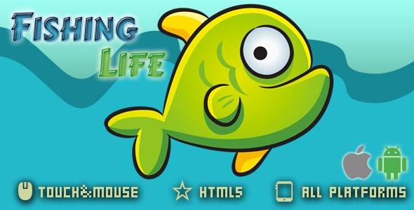 Fishing Life-Html5 Game - CodeCanyon Item for Sale