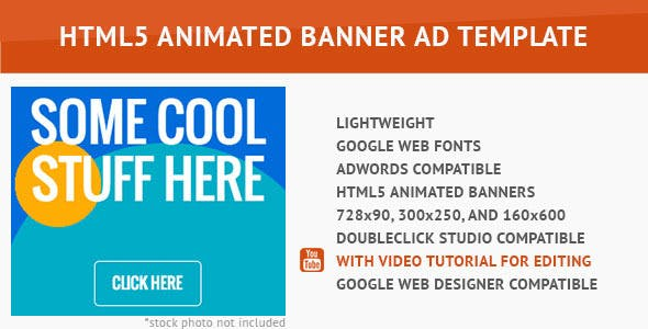 Power Color HTML5 Animated Banner