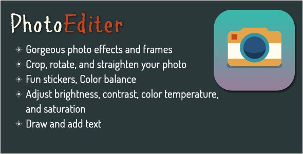 Photo Editor for Android - Using Aviary - CodeCanyon Item for Sale
