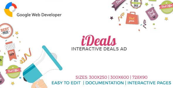 iDeals - Interactive Banner Ad - CodeCanyon Item for Sale