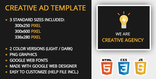 Creative Ad Template - CodeCanyon Item for Sale