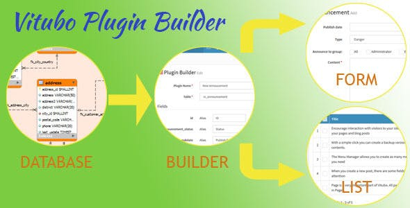 Vitubo Plugin Builder