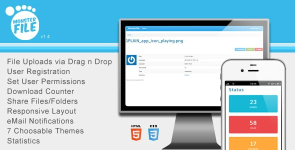 MonsterFile Multi-User File Management - CodeCanyon Item for Sale
