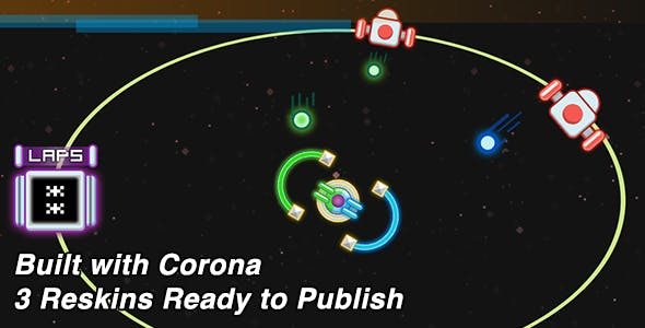Color Block Corona SDK Game