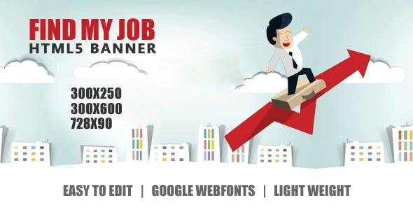 Job Portal -  Ad Banner